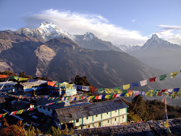 Experience the spectacular Himalayan mountains